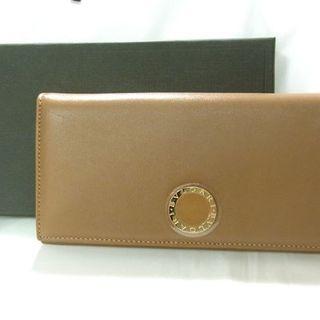 ブルガリ(BVLGARI)の正規ショップ新品 BVLGARI ブルガリ 長財布 ブラウン 保護シール(財布)