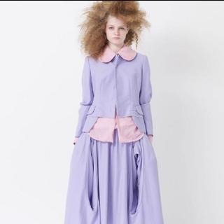 コムデギャルソン(COMME des GARCONS)のコム・デ・ギャルソン 縮絨スカート(ロングスカート)