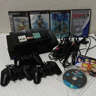 プレイステーション2(PlayStation2)のPS2 本体セット ジャンク(家庭用ゲーム本体)