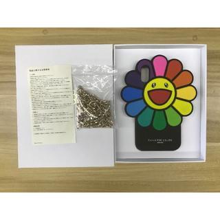 アイフォーン(iPhone)のフラワーシリコンケース iPhoneXR カイカイキキ 村上隆(iPhoneケース)