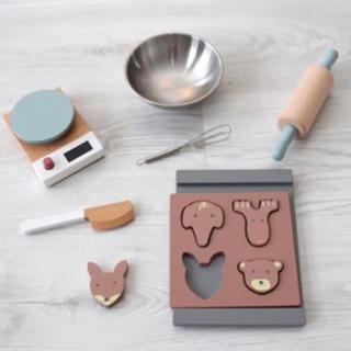 キャラメルベビー&チャイルド(Caramel baby&child )のKids Concept 木製おもちゃ クッキー作りセット♡(知育玩具)