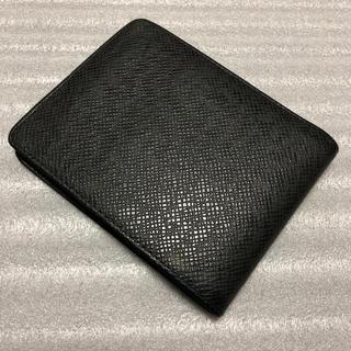 ルイヴィトン(LOUIS VUITTON)の【美品】ルイヴィトン 二つ折り財布 タイガ(折り財布)