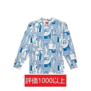 シュプリーム(Supreme)のSupreme Salome L/S Top 青L(Tシャツ/カットソー(七分/長袖))