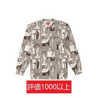 シュプリーム(Supreme)のSupreme Salome L/S Top 茶XL(Tシャツ/カットソー(七分/長袖))