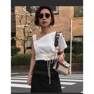 アメリヴィンテージ(Ameri VINTAGE)のAmeri vintage☆MEDI ENROULER ROPE TOP(Tシャツ(半袖/袖なし))