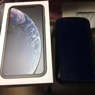 アイフォーン(iPhone)のiPhonexr 128G ブラック docomo(スマートフォン本体)