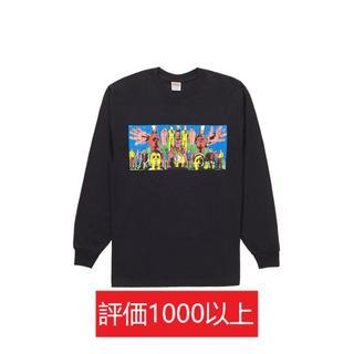 シュプリーム(Supreme)のSupreme DEATH AFTER LIFE L/S 黒XL(Tシャツ/カットソー(七分/長袖))