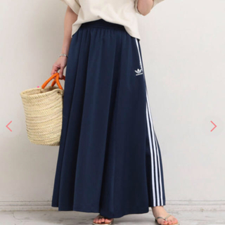 アディダス(adidas)のadidas 3line LONG SKIRT(ロングスカート)