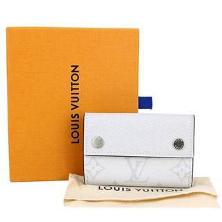 ルイヴィトン(LOUIS VUITTON)のルイヴィトン ディスカバリーコンパクトウォレット タイガラマ ホワイト(折り財布)