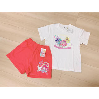 バンダイ(BANDAI)のスタートゥインクルプリキュア Tシャツ ショートパンツ コーデセット(Tシャツ/カットソー)