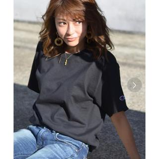 Champion - 【新品 未使用品】チャンピオン  クルーネック 半袖 Tシャツ 黒