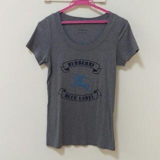 BURBERRY BLUE LABEL - お値下げ タグなし未使用 バーバリーブルーレーベル 半袖 Tシャツ  レディース