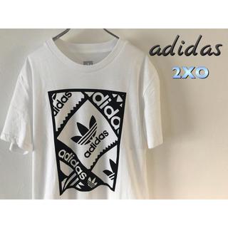 アディダス(adidas)のアディダス オリジナルス Tシャツ 2XO 白 新品(Tシャツ/カットソー(半袖/袖なし))