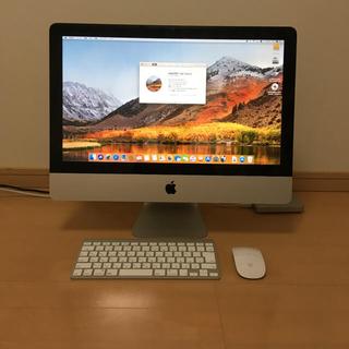 アップル(Apple)のApple iMac 2011  Core i5 メモリ8GB SSD換装済み!(デスクトップ型PC)