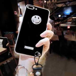 ★キラキラ にこちゃん スマイル  iPhone6s/7/8★(iPhoneケース)