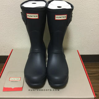 ハンター(HUNTER)のハンター  レインブーツ  HUNTER  ショートブーツ  UK5  (レインブーツ/長靴)