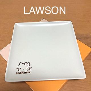 ローソンハローキティ四角いお皿(食器)