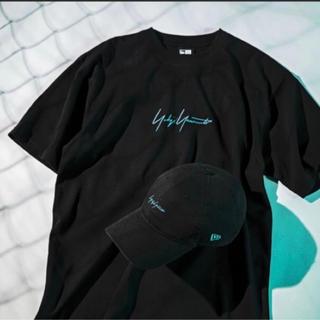 Yohji Yamamoto - yohji yamamoto × New Era Tシャツ Mサイズ ターコイズ