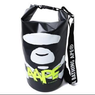 アベイシングエイプ(A BATHING APE)の AAPE BY A BATHING APE  summer bag bape(Tシャツ/カットソー(半袖/袖なし))