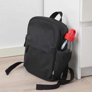 IKEA - IKEA リュック ブラック スモールサイズ バックパック 黒 イケア ミニ