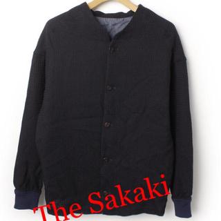 サンシー(SUNSEA)のThe Sakaki ノーカラージャケット(ノーカラージャケット)