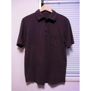 ムジルシリョウヒン(MUJI (無印良品))の最終値下 無印良品 メンズ 半袖ポロシャツ カーキブラウン系色 M / 茶色(ポロシャツ)
