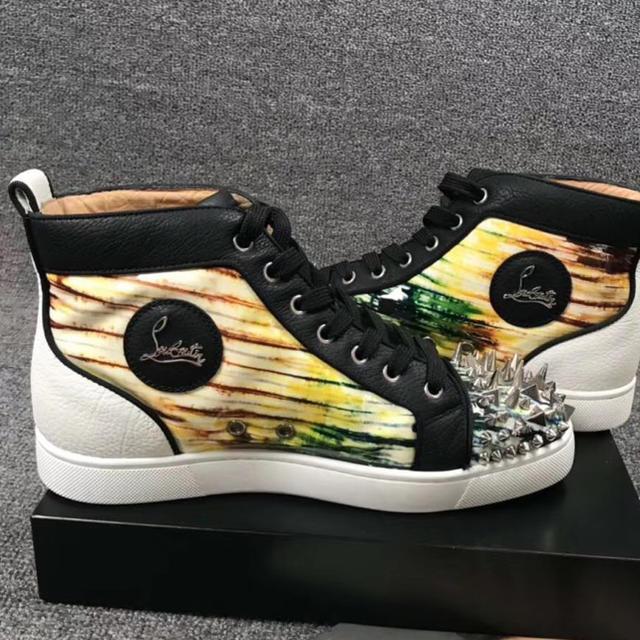 Christian Louboutin(クリスチャンルブタン)の極美品❣️正規クリスチャンルブタンスニーカー39.5  メンズの靴/シューズ(スニーカー)の商品写真