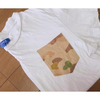アディダス(adidas)のadidas 半袖(Tシャツ/カットソー(半袖/袖なし))