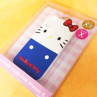 ハローキティ(ハローキティ)のキティ iPhoneX/Xs 兼用 シリコンカバーSAN785(iPhoneケース)
