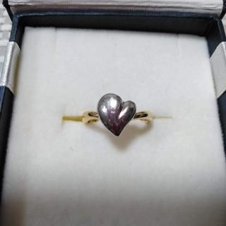 プラチナ×18k コンビ ハートリング (リング(指輪))