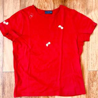 ミナペルホネン(mina perhonen)のミナペルホネン mina perhonen chocho ちょうちょ Tシャツ(Tシャツ(半袖/袖なし))