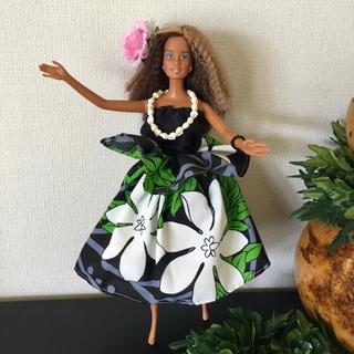 バービー(Barbie)のバービー人形 フラダンス衣装【No.132】(人形)