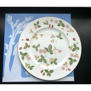 ウェッジウッド(WEDGWOOD)のWEDGWOOD ウエッジウッド ワイルドストロベリー 大皿 27cm(食器)