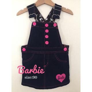 バービー(Barbie)の【Barbie】サロペット ワンピース(ワンピース)
