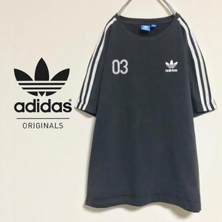 アディダス(adidas)の【人気のサイドライン&トレフォイルロゴ】adidas CT Boxy Tee(Tシャツ/カットソー(半袖/袖なし))