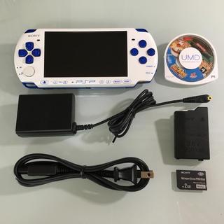 PlayStation Portable - 美品 PSP-3000 バリューパック ホワイト/ブルー