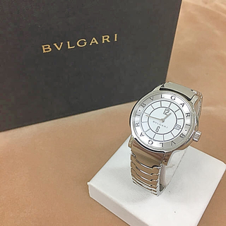 ブルガリ(BVLGARI)の鑑定済み 正規品 BVLGARI/ブルガリ ソロテンポ 腕時計 送料込み(腕時計)