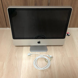 アップル(Apple)の★iMac A1224-20inch    Mac OS & Win★詳しい方に(デスクトップ型PC)