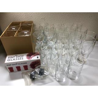 グラスまとめ売り!グラスセット売り!33コワイングラス ピルスナー ガラスコップ(グラス/カップ)