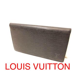 ルイヴィトン(LOUIS VUITTON)の☆ルイヴィトン☆手帳☆ブラック☆エピアジェンダ☆(手帳)