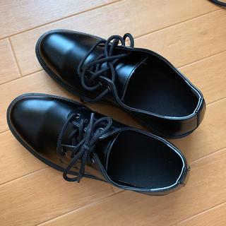 厚底 革靴(ローファー/革靴)