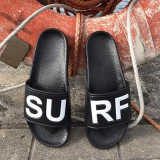 ロンハーマン(Ron Herman)の海で便利☆LUSSO SURF シャワーサンダル 黒41☆ベナッシ(サンダル)