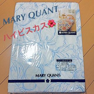MARY QUANT - MARY QUANT ハイビスカス フラットシーツ