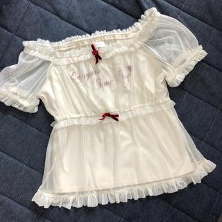 リズリサ(LIZ LISA)のリズリサ トップス (Tシャツ(半袖/袖なし))