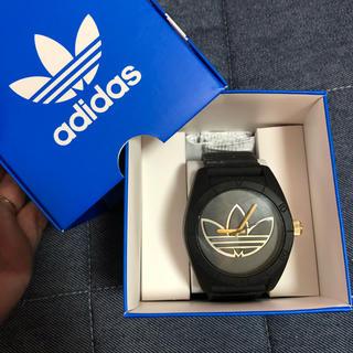 adidas - アディダスオリジナルス 腕時計 黒ゴールド