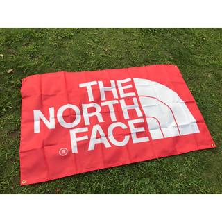 ザノースフェイス(THE NORTH FACE)のThe North Face ナイロンフラッグ 850×1470 大サイズ  赤(ナイロンジャケット)