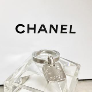 シャネル(CHANEL)の正規品 シャネル 指輪 銀 カメリア クローバー 5 シルバー 花 四葉 リング(リング(指輪))
