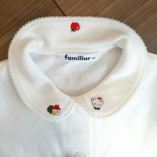 familiar - mai様ご専用【美品】familiar ファミリア ブラウス サイズ80