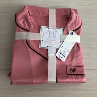 ジーユー(GU)のgu  サテンパジャマ  半袖 長ズボン(パジャマ)
