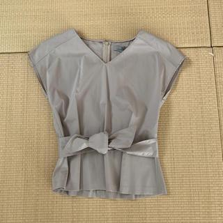 ビアッジョブルー(VIAGGIO BLU)のViaggio Blu ビアッジョブルー ペプラムブラウス(カットソー(半袖/袖なし))